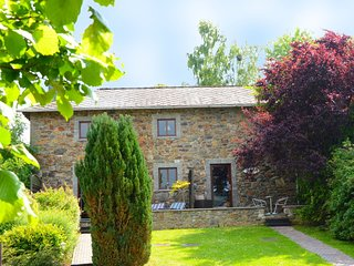 Charming Cottage in Stoumont Liiege with colourful garden