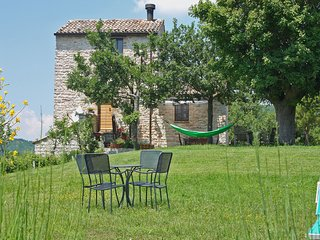 CozyVilla in Acqualagna Marche with 18th Century Old Tower