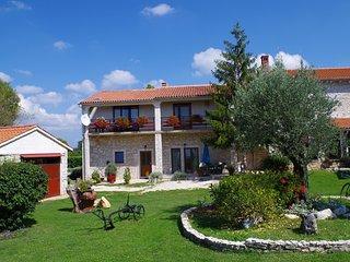 Luxurious Apartment with Terrace in Sajini Croatia