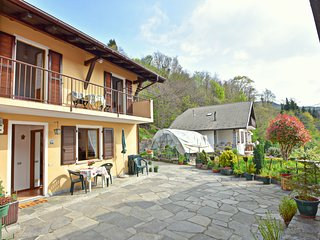 Holiday home in quaint, quiet village near the Lago Maggiore
