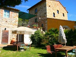 Farmhouse in a lovely park near Florence with beautiful pool among olive trees