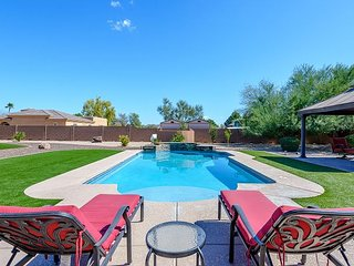 Expansive Vacation Home for your next AZ Vacation! Back yard PARADISE...