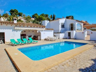 Mabruka - charming, Spanish finca style holiday villa in Benissa