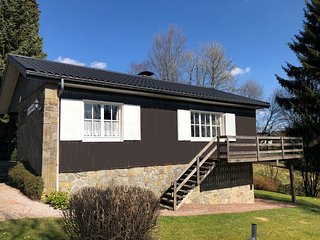 A well cared chalet situated at less than 10 kilometers from Malmedy, loads of a