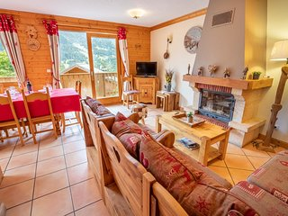 Lovely 10 person chalet with sauna
