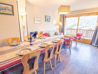 Magnificent view, Apartment 6pers, close to Morel chairlift!