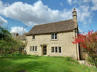 The old coach house of this dairy farm was converted into a lovely cottage