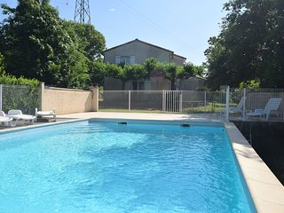 Large Holiday Home With Private Garden in Les Assions France