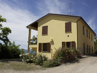 Studio in the middle of nature with panoramic views of the valley Santerno.