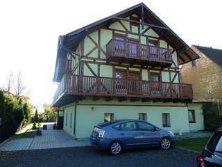 Nice accommodation (2 houses) for summer and winter holidays in the Ore Mountain