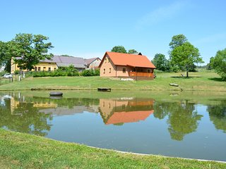 Nice house with private pond and fishing without fishing license
