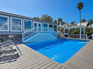 NEW! Home w/ Deck & Dock on San Jacinto River!