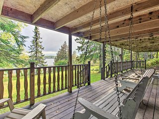 NEW-Private Orr Home w/Fire Pit & Dock on Ash Lake