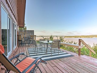 NEW! Family Cabin with Deck & Grand Lake Views!