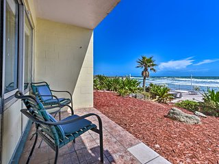 Oceanfront Daytona Beach Condo w/ Pool Access