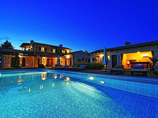 Villa Stancija Martina with Private Pool and Landscaped Garden