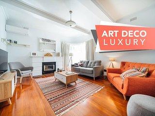 Masterpiece on Moseley-Art Deco Luxury - Beach - Wifi