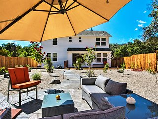 Glen Ellen House w/Hot Tub, Walk to Wineries!