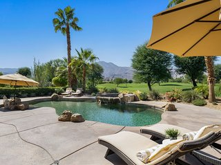 PGA West 'Legends' Home w/Heated Saltwater Pool. Fairway and Mountain Views!