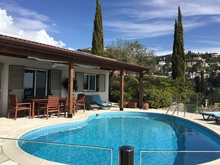 Stunning, 2 bedroom, one storey villa with panoramic views, private pool & WIFI
