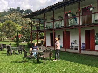 Spacious 2-story historical home with 6 bedrooms overlooking the coffee crops