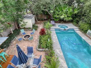 Charming beach home w/ a private, heated pool & spa - close to the beach!