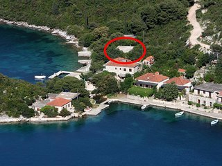 Comfortable and spacious apartment Prožurska Luka (Mljet) (A-617-a)