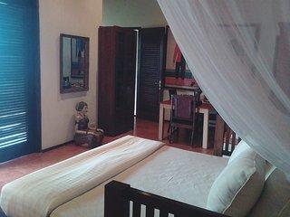 Villa Gamrang in Pelabuhan Ratu, 1 bedroom villa with sea view & private garden