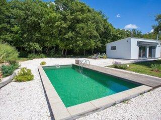 Ferienhaushaus Loborika mit Pool