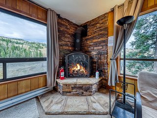 NEW LISTING! Two dog-friendly, ski-in/out condos w/ scenic wooded views