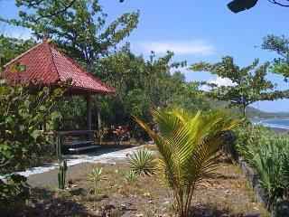 Bali bij KLUNGKUNG, huis aan zee, privacy, zeelucht, Nusa-Penida in 25 min.