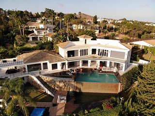 Large Villa Marbella with Amazing Sea Views