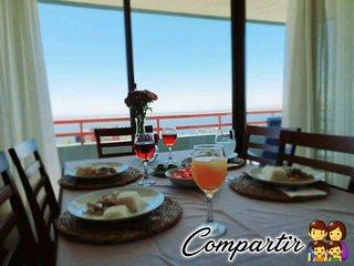 Apartamento en Viña del Mar, Hermosa vista panorámica, Full amoblado.