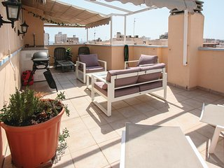 Nice apartment in Santa Pola w/ 2 Bedrooms (EBI156)