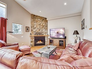Mountain-View Haven w/ Heated Garage & Firepit - Near Slopes & Trails
