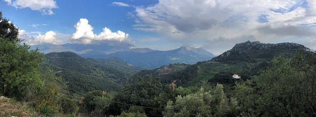 Mountains a few kilometers from Estepona