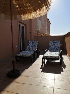 Tumbonas para relajarse al sol
