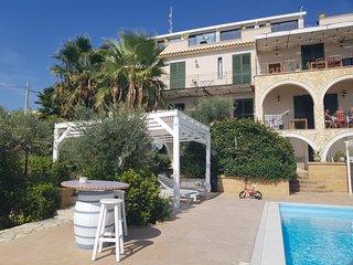 Appartamento Azzurro 1-Posti letto 7 Villa Ceni Triscina di Selinunte sul mare.