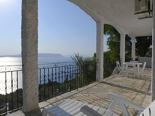 Villa ERIKA+VERONICA. Private access to the sea. Privileged view of the Egean.