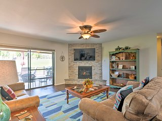 Bright Condo w/Deck + Golf Course & Mtn View!