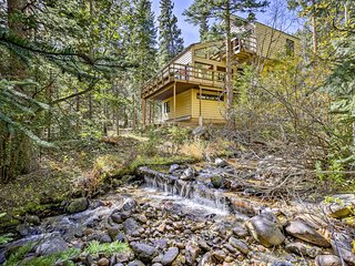 NEW! Tranquil Dumont Home w/ Creek & Mtn Views!