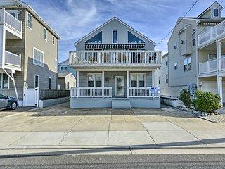 North Wildwood Beach-Block Home w/ 2 Decks!