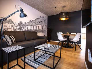 Postcard City Apartment with private Terrace & Parking