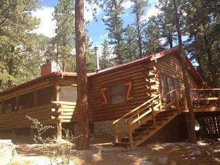 Jarrett Cabin on Chalk Creek