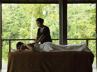 Bulan Room'The Japanese Design Combaining with Traditional Balinese Touches