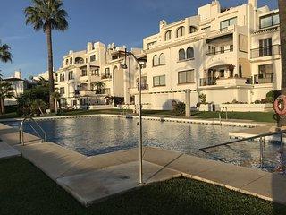 2 Bedroom Apartment, Beachfront, La Cala De Mijas