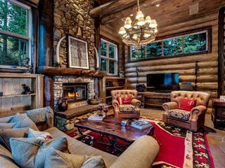Luxury Log Home In Snowmass Minutes From Everything! Perfect For Groups, Amazing
