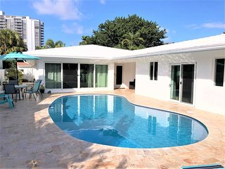 Go First Class at our Stunning Lauderdale Beachside Pool Home