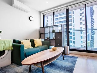 Cozy 1BR at with Pool&Gym*Melbourne Great View
