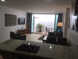 202 New 2BD/2BA Apt + free Cowork Laureles / Estadio